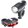 Red Cycling Products Bright LED Light Set faretti nero